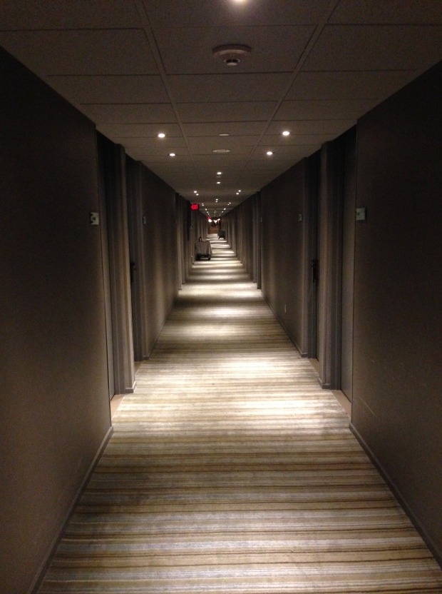 Kilometer lange Hotelflure...