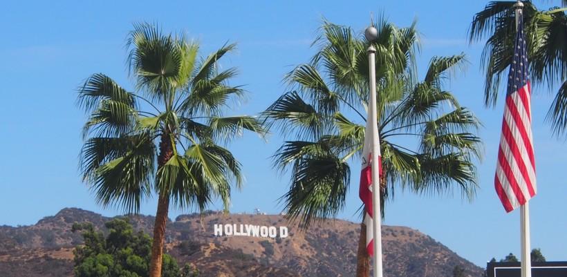 Hollywood, Zeichen, Schrift, Schriftzug, Los Angeles