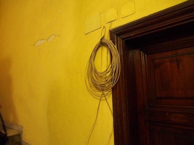 Da geht Dir nie das Kabel aus...