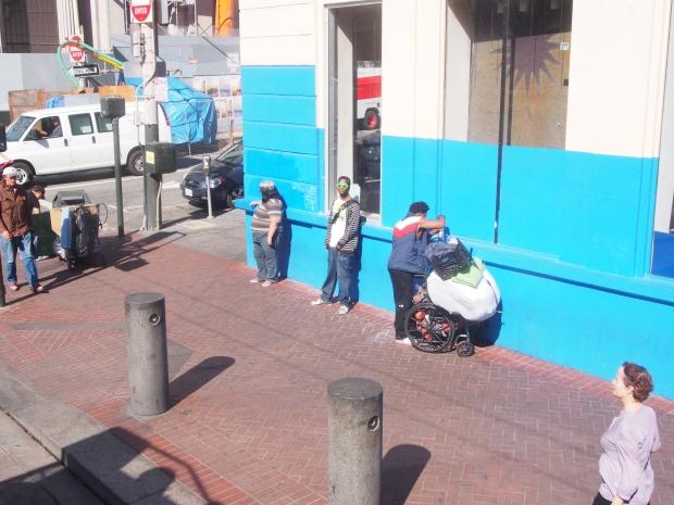 Obdachlose San Francisco