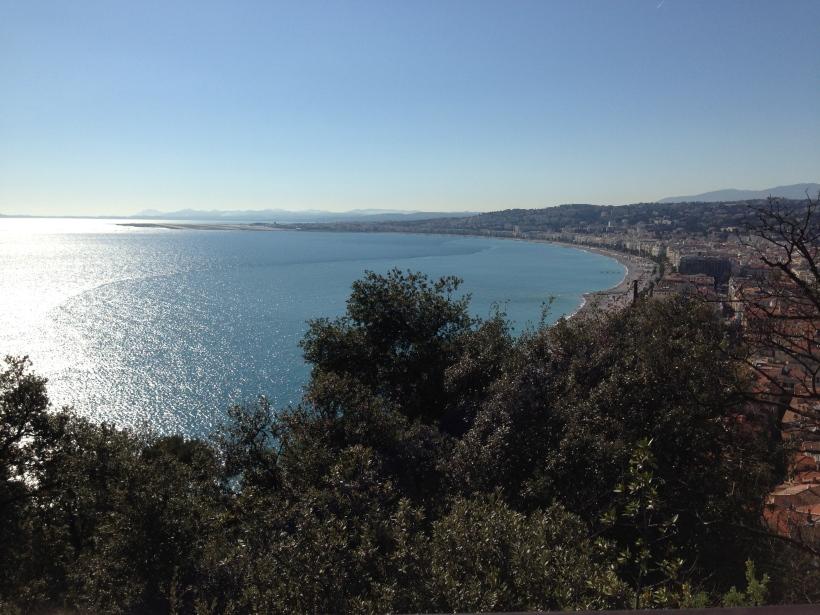 Colline du Château, Nizza, Frankreich, Sightseeing, Sehenswürdigkeit, Panorama, Wochenendtrip, Ausflug, Reisen