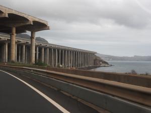 Funchal Flughafen Madeira Stelzen