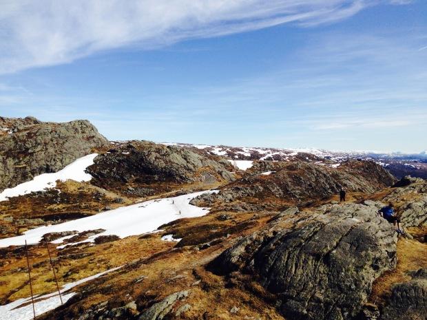 Ulriken Bergen Norwegen wanderweg