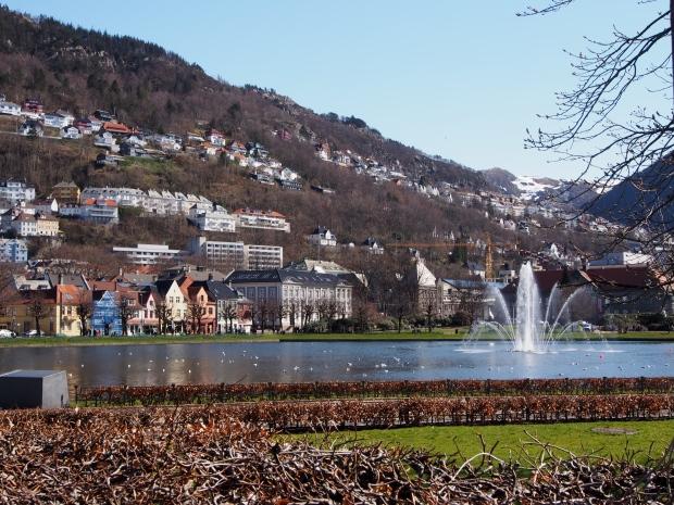 Bergen Norwegen keine Regentage