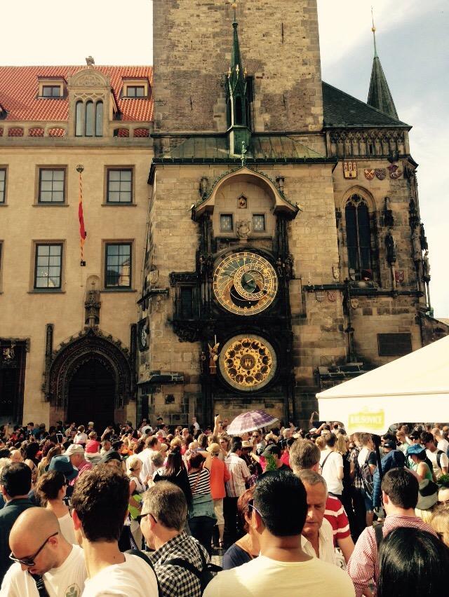 Astronomische Uhr Rathaus Prag