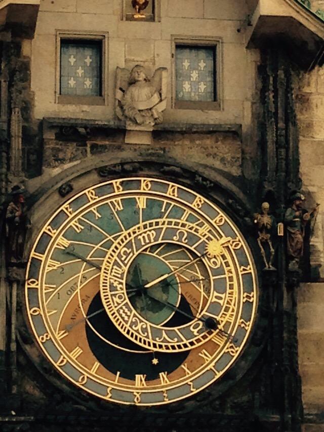 Astronomische Uhr am Rathaus Prag