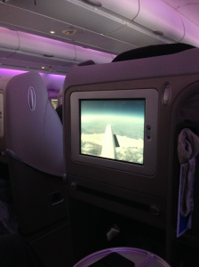 Air France Airbus Sitze A380 Business Class