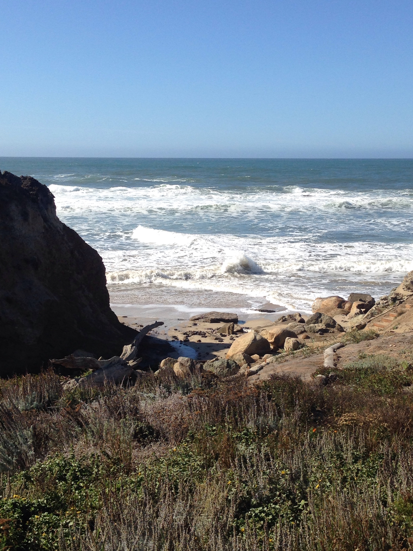 Fitzgerald Marina Reserve, Moss Beach, Kalifornien, California, Pazifik, Ozean