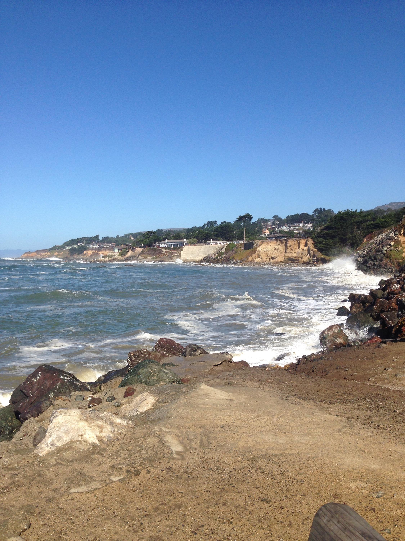Pazifischer Ozean, Küste, Kalifornien, Meer