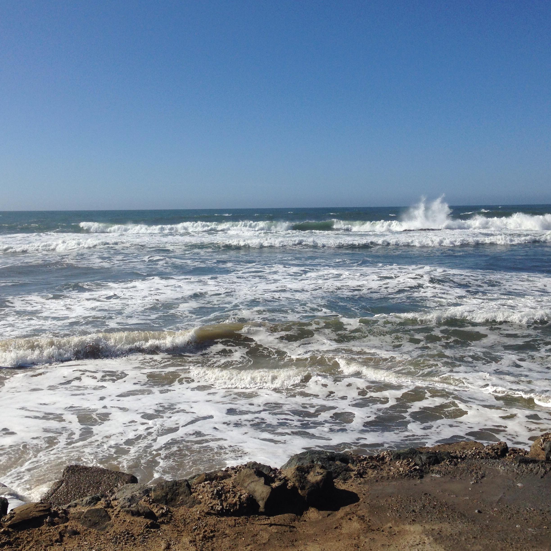 Pazifik, Kalifornien, Sonne, Ausflug, Wellengang