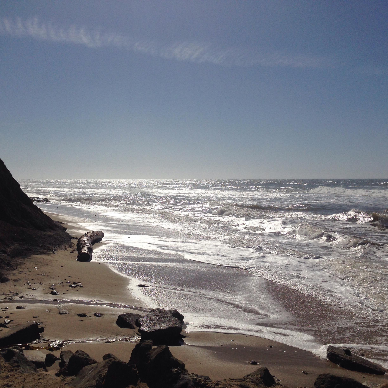 Moss Beach, California, Ocean, pacific, Fitzgerald marina Reserve