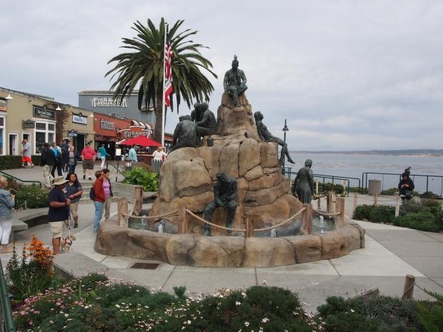 Monterey, Fischer, Seemänner, Skulptur