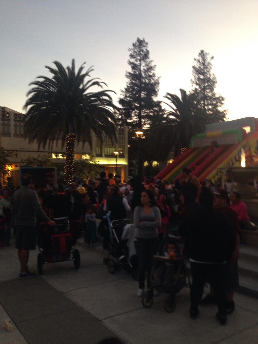 Riesenrutsche Halloween California