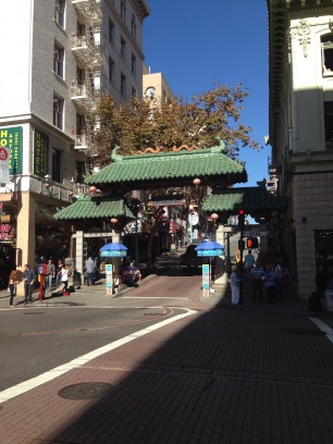 dragon gate, drachentor, eingang chinatown san francisco