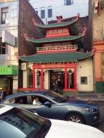 Chinatown, San Francisco, Bank, Tempel, Häuser