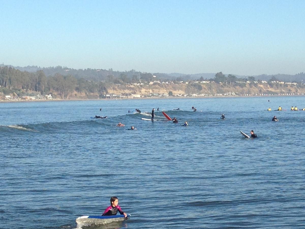 Surfer, Surfing, Capitola, Surfer-Paradies, Kalifornien