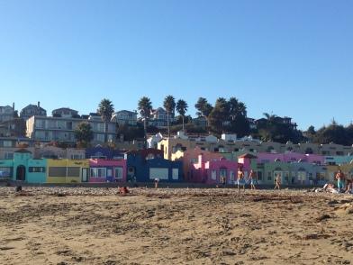 Capitola Beach, Kalifornien, Capitola, Strand, Ausflugsziel, Wochenendtrip, Ausflug