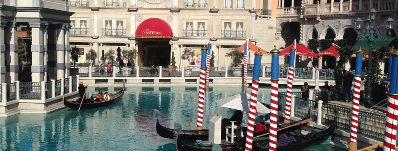 The Venetian, Gondeln, Las Vegas, Gondollier,