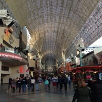 Fremont St, Las Vegas, Fremont Street Experience, leuchtende Decke, Las Vegas, Lichtspiel