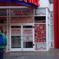 Attraktion, Touristenattraktion, Sehenswürdigkeit, Heart Attack Grill, heart attack burger, burger herzinfarkt, Las Vegas, Amerika, USA