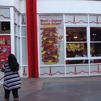 Attraktion, Touristenattraktion, Sehenswürdigkeit, Heart Attack Burger, Las Vegas