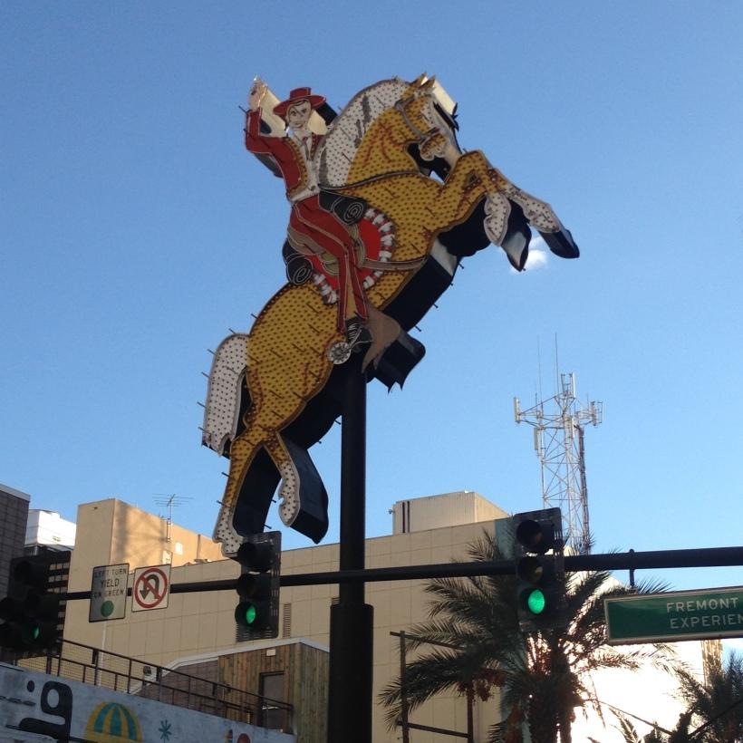 Attraktion, Touristenattraktion, Sehenswürdigkeit, Las Vegas, Downtown, Leuchtreklame