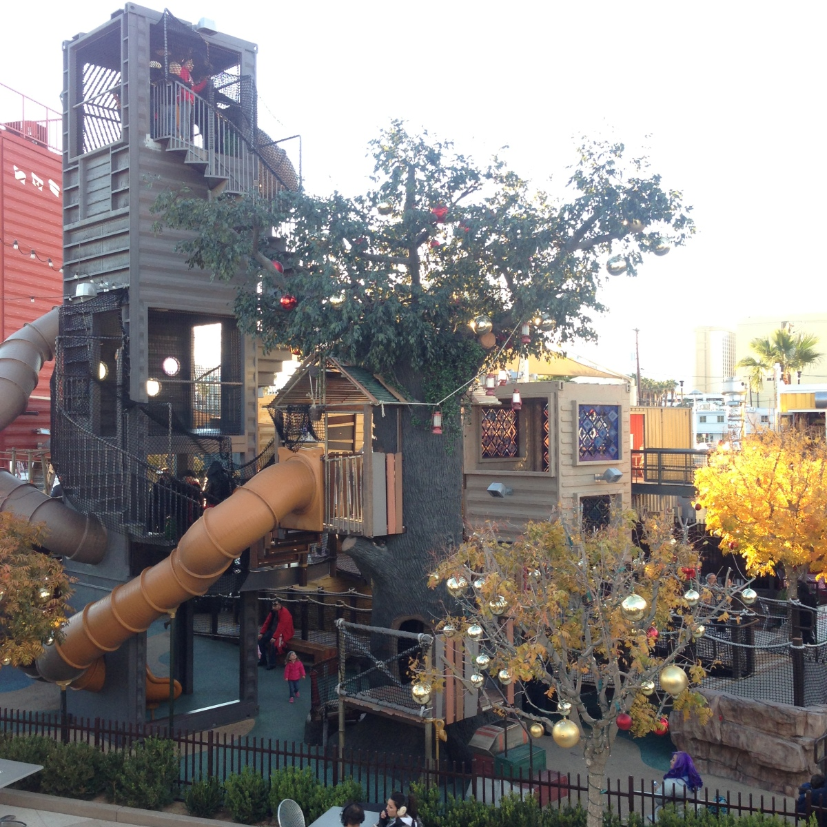 Attraktion, Touristenattraktion, Spielplatz, Las Vegas, Downtown, Containerpark