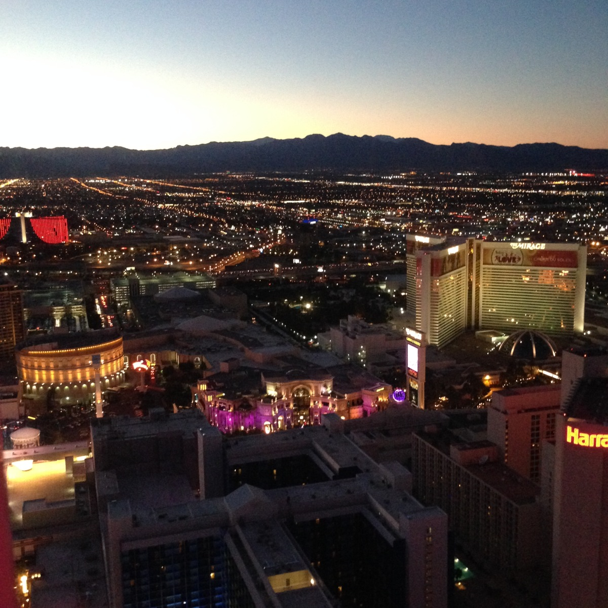 Attraktion, Touristenattraktion, Sehenswürdigkeit, Skyline, Las Vegas, Ausblick, Berge, Nevada, Amerika, Strip