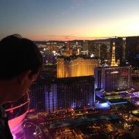 Attraktion, Touristenattraktion, Sehenswürdigkeit, Riesenrad, Las Vegas, Strip, Ausblick, Skyline, Gondel, Blick,