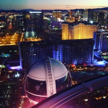 Attraktion, Touristenattraktion, Sehenswürdigkeit, Riesenrad, Las Vegas, Ausblick, Strip, Sonnenuntergang, Gondel, sicher