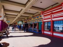 Santa Cruz, Buden, Strandpromenade, Geschäfte