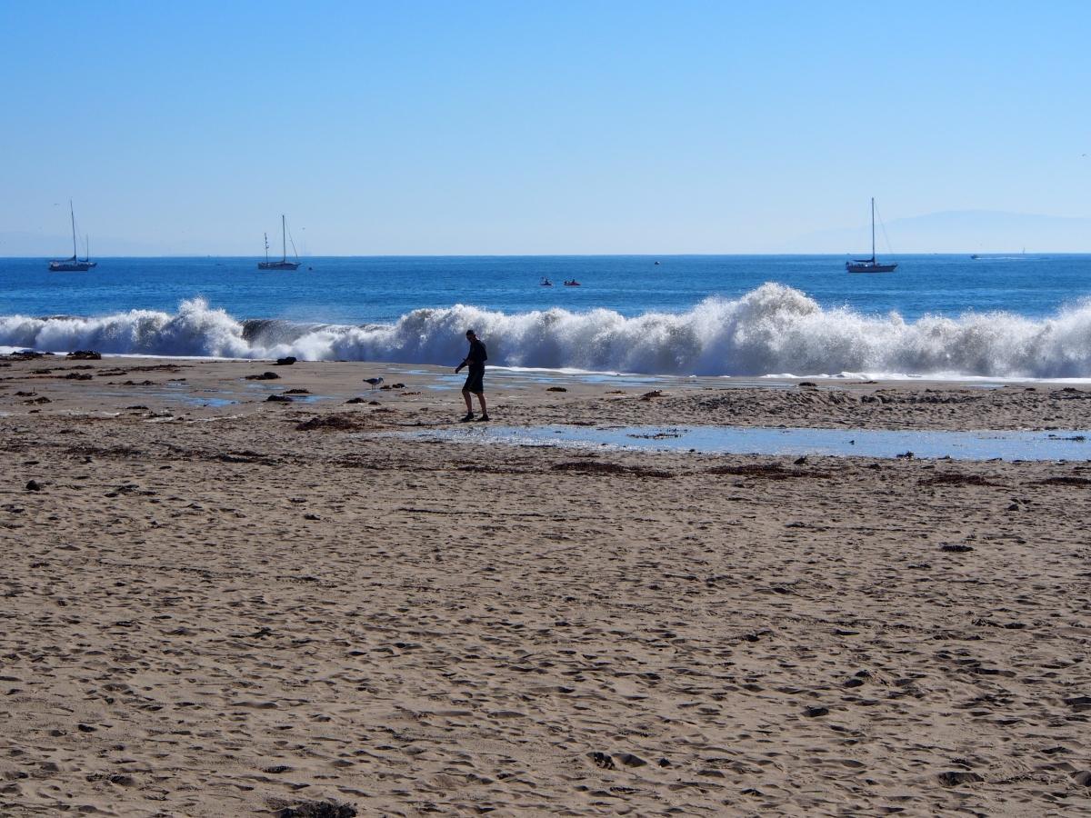 Santa Cruz, Strand, Ausflug, Wochenausflug, Wochenendtrip, Santa Cruz, Meer, Pazifik