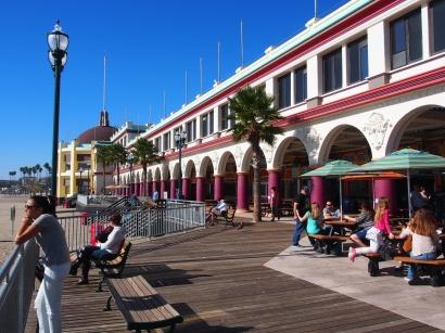 Boardwalk Santa Cruz, Kalifornien, USA, Vergnügungspark, Ausflugsziel