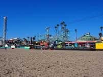 Strandpromenade, USA, Kalifornien, Fahrgeschäfte, Vergnügungspark, Themenpark, Achterbahn, Wochenendausflug