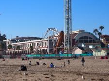 Santa Cruz, Vergnügungspark, Strand, Meerblick, Fahrgeschäft