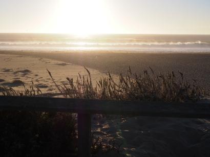 Pazifik, Küste, Strand, abgelegen, weißer sand,