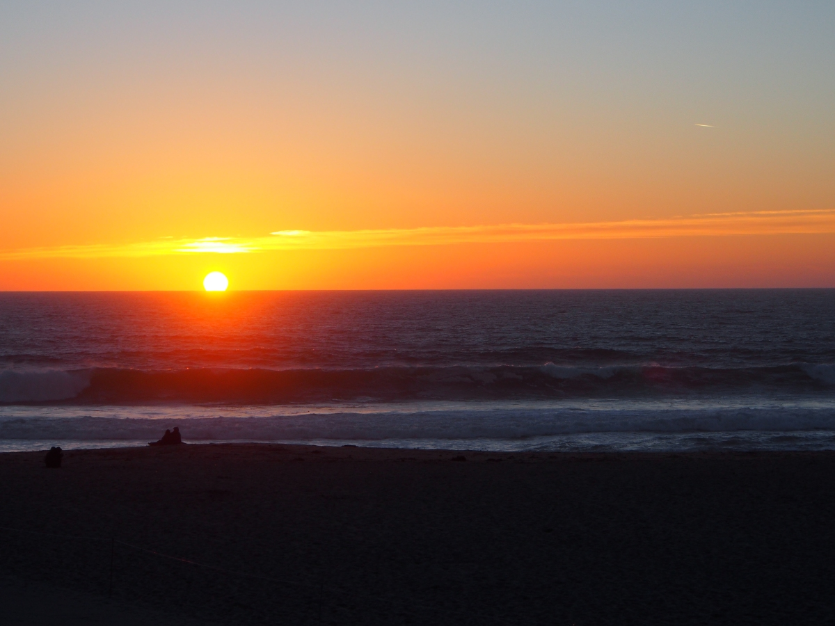Pazifik, Sonnenuntergang, Sonne, Sunset, Kalifornien,