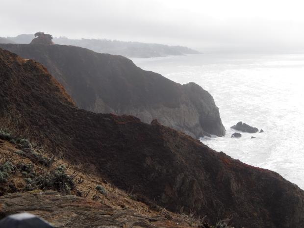 Ausblick, Beobachten, Wale, Küste, Devil's Slide Trail, Wandern, Ausflugsziel, Kalifornien, USA