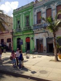 Kolonialbauten, bunt, Havanna, Kuba