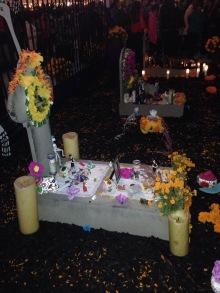 Dia de los Muertos, Grabstelle, Kalifornien, geschmückt, schmuck, bunt, blumen