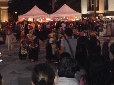 Dia de los Muertos, Prozession, Fest, Allerheiligen, Allerseelen, mexiko, kalifornien