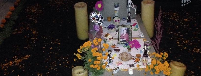 Dia de los Muertos, Kalifornien, Grab, Verwandte, Verstorbene