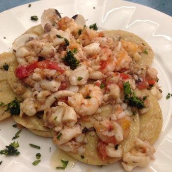spanisch, meeresfrüchte