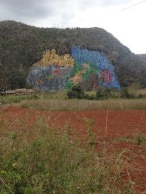 Mural de la Prehistoria, kuba, malerei, kunst, touristen