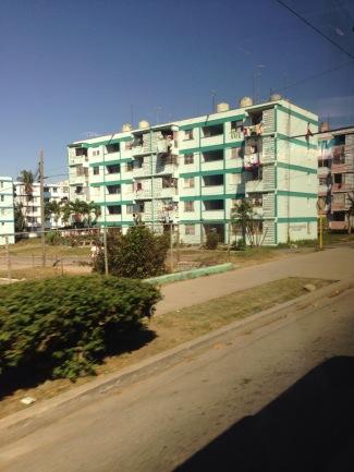 Sozialismus, Neu, Wohnsiedlung, Kuba, Trinidad