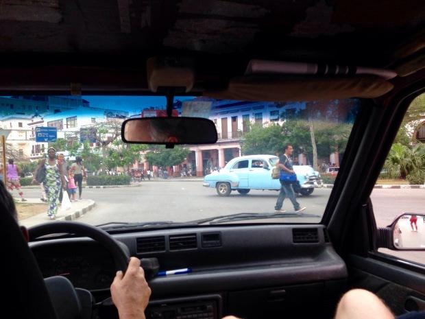 Daewoo, Havanna, Kuba, altersschwach.
