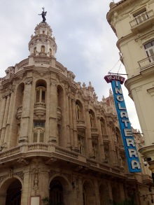 Hotel Inglaterra, Havanna, Kuba, Nationaltheater