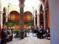 Kuba, Havanna, Havanna Rum Museum, Innenhof