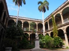 Plaza de Armas, Havanna, Kuba, Innenhof,