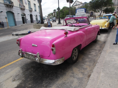 Oldtimer, Cabriolet, Kuba, Havanna